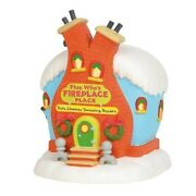 Dept 56 Who-ville Flue Who's Fireplace Place 6003319 Brand New