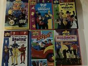 Lot Of 6 Wiggles Dvd Toot Toot Wiggledancing Pop The Wiggles Toddler Music Video