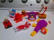 Mcdonalds 40th Anniversary Happy Meal Toys Lot Beanie Changeables Bugs Furby Etc