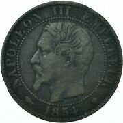 1854 / 5 Centimes - Napoleon Iii. - France Very Nice Collectible Coin Wt28010
