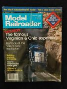 1998 January Model Railroader Magazine Famous Virginian And Ohio Expand D107