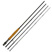 Fly Fishing Rod 9ft 5/6 Wt Graphite 4 Pieces Fast Action Trout Rod Freshwater