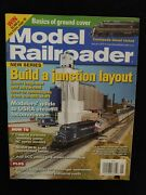 2011 January Model Railroader Magazine Build A Junction Layout D107