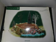 Dept 56 Village Accessory Sounds Of The North Woods 53025 Works Great