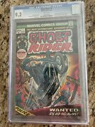 Ghost Rider 1 Cgc 9.2 White '73 Key Issue - Son Of Satan Hot One