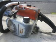 Vintage Collectible Stihl 041 Farmboss Chainsaw With 20 Bar