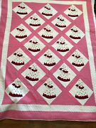 Sunbonnet Sue Southern Belle Handmade Quilt Circa 1940s/50s 1 Of 2 Available