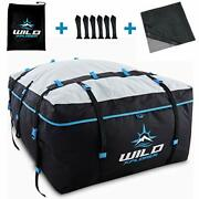 Rooftop Cargo Carrier Bag Cubic Feet Waterproof Camping Ski Trips And Vacations