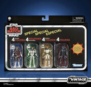 Star Wars The Vintage Collection The Bad Batch Special 4 Pack Exclusive