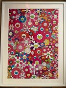 Takashi Murakami And039an Homage To Monopink 1960 Framed. Signed. Limited Edition.