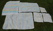 Vintage 1980s Lot Curity Cloth Baby Diapers And Baby Blankets Nursery History Kids