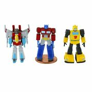 Worlds Smallest Transformers Autobots Micro Action Figure Lot Of 3