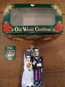 Old World Christmas Halloween Decorations Glass Blown Ornaments For Christmas Tr