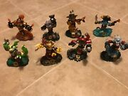 Skylanders Swap Force Lot 8 Magna Charge Night Shift Stink Bomb Rubble Rouser