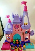 Fisher Price Little People Disney Princess Songs Palace 2012 Complete +extras