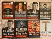 Lot 8 Bill O'reilly Complete Killing Series 1-8 Lincoln - Ss Hardcover Books
