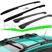 4pcs Silver Cross Bars And Roof Rack Rails Fit For Jeep Renegade 2015-2021 Cargo