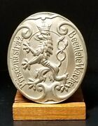 Rare Wwii Forestry Service Beeidete Wache Badge Bohemia And Moravia Protectorate