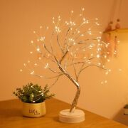 Battery Powered Led Fairy Tree Light Copper Indoor Room Party Us Decoration Lamp