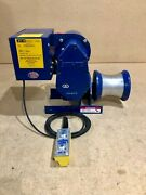 My-te 30-12dc Utility Capstan Electric Winch-hoist W/ 10and039 Pendant Hand Control