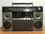 Dp-s8 Sanyo Boombox Mr-x20 With Power Cord Junk Goods
