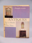 Book Antiques, How To Identify And Collect Antiques By Donald Cowie