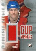 2012-13 Itg Forever Rivals Cup Winners Jerseys Silver Cw03 Kirk Muller