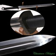 Combat Ready 5kg Tang Epee Sword T10 Steel Blade With Clay Tempered Sharp 3429