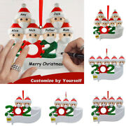 New Diy Christmas Hanging Ornaments Family Personalized Xmas Household Decor Usa