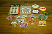 Lot Of Nos Vintage Train/railroad Patches And Memorabilia