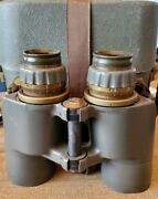 Vintage Vietnam Era M19 Binoculars Early Issue Low Serial And Case Free Ship Usa