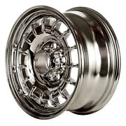 65133 Refinished Mercedes Benz 240d 1977-1978 14 Inch Wheel, Chrome
