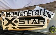 Mastercraft Boat X Star Domed Decal Kit 2013 New Overstock Port/starboard Sides