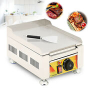 Table Top Griddle Portable Flat Top Grill Outdoor Cooking Bbq Food Truck Us Sale