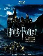 Movie Harry Potter-complete Collection Years 1-7ab On Blu-ray/8 Disc