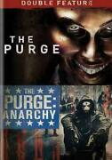 Movie Purge/purge-anarchy Double Feature On Dvd