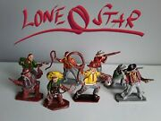 Cowboys Farwest By Lone Star Toy Soldiers 1960s Uk Made