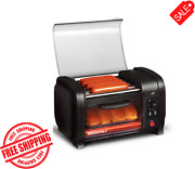 Hot Dog Roller And Bun Warmer Toaster Oven Sausage Kitchen Cooker Bake Tray New