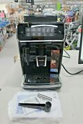 Philips 3200 Series Black Whole Beans And Ground Fully Automatic Espresso Machine