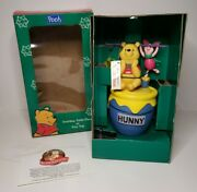 Mr. Christmas Disney's Winnie The Pooh Twirling Table Piece Or Tree Top Animated