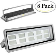 8x 1000w Led Flood Light Cool White Bright Waterproof Ip65 Outdoor Path Fixtures