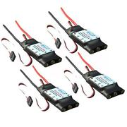 4x Simonk 30a Brushless Esc Speed Controller 3s 5v 2a For Quadcopter F450 S500