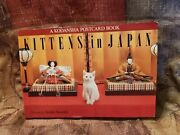Kittens In Japan Postcard Book Pictures By Atsuki Sumida 1st Edition