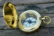 Push Button Compass Vintag Lots Of 50 Pcs Nautical Solid Brass Compass Christmas