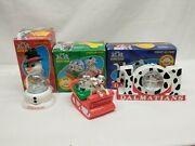 Disneyand039s 101 Dalmations Mcdonalds Ornament Lot Christmas Decorations Pre-owned