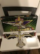 Vintage Power Rangers Bandai Mmpr White Ranger Deluxe Falconzord 1995 With Box