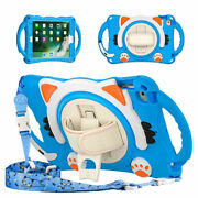 For Ipad Mini 1 2 3 4 5 Kids Rugged Handle Stand Rotating Shockproof Case Cover