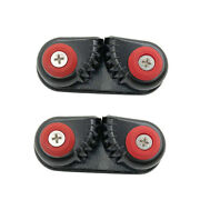 2x Cam Cleat Curry Clip For 15 Mm Rope