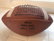 1994 Game Used Rose Bowl Football Ball Ucla Bruins Wisconsin Badgers Jersey