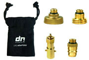 Set Of 4 Lpg Propane Bottle Refill Adapters M21.8 Lh Gas Autogas Europe+ A Bag